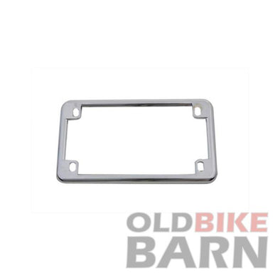VT Chrome Motorcycle License Plate Frame