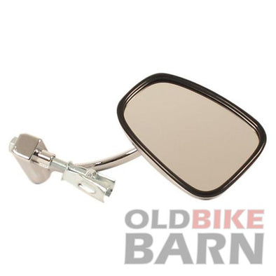 Chrome Universal Bar End Mirror