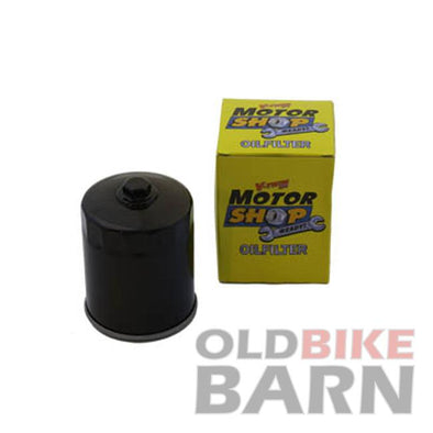 Black Hex Spin On Oil Filter XL/BT