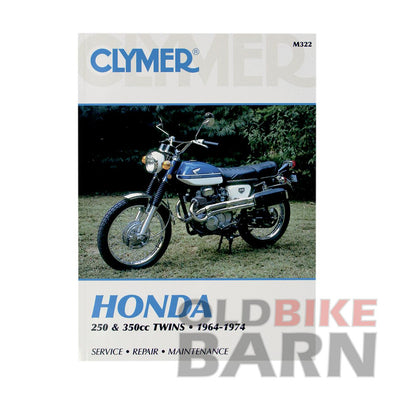 Honda 68-73 CB/CL350 Repair Manual