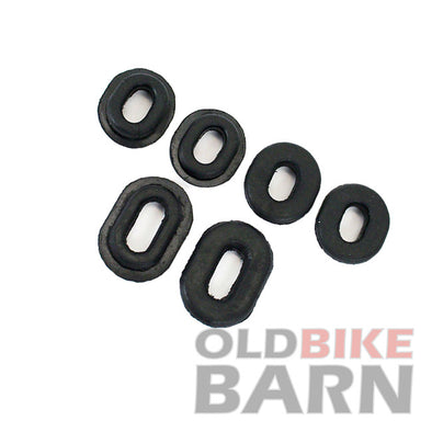 Honda 69-76 CB750K 79-82 CB750K/L Side Cover Rubber Set