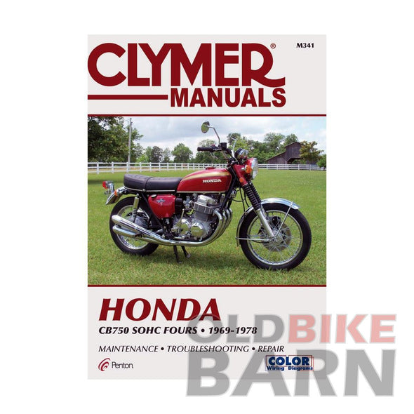 Honda 69-78 CB750 Repair Manual