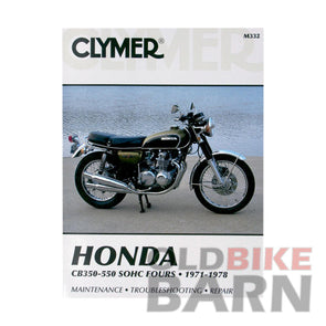 Honda 71-78 CB350F/400F/500/550 Repair Manual