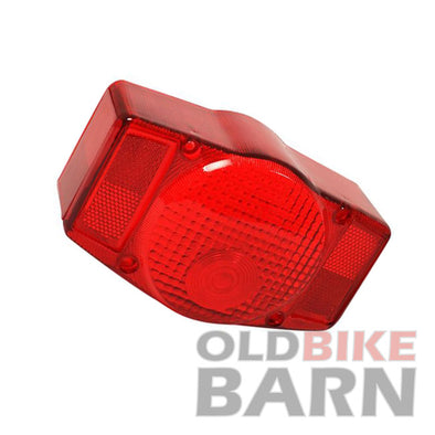 Honda 72-73 CB500K 75-76 CB500T 74-77 CB550 Tail Light Lens