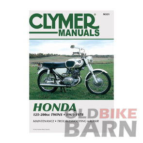 Honda 74-76 CB200 Repair Manual