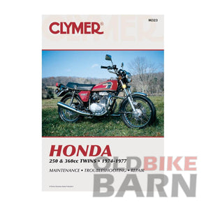 Honda 74-76 CB360 Repair Manual