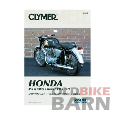 Honda 75-76 CB500T Repair Manual