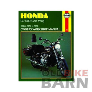 Honda 75-79 GL1000 Repair Manual
