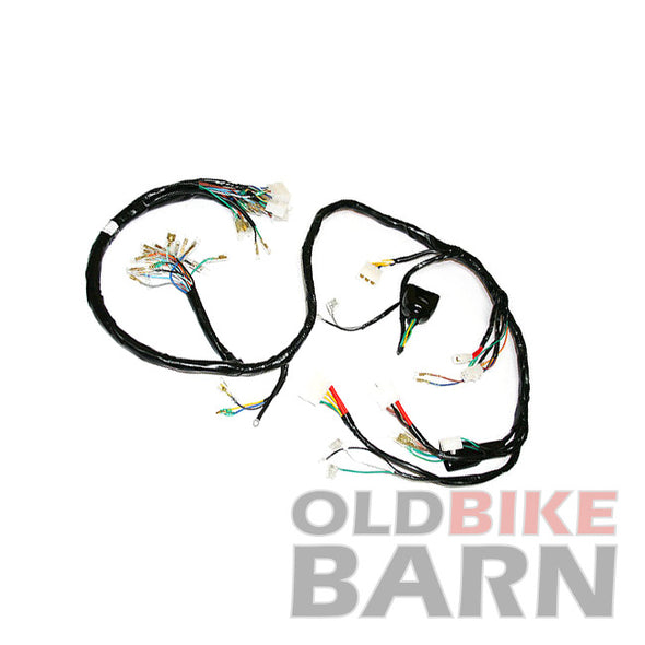 honda 76 cb750a wiring harness  u2013 old bike barn