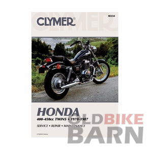 Honda 78-81 CB400T Repair Manual