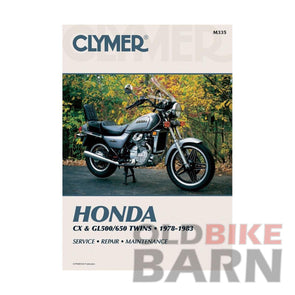 Honda 78-82 CX500 Repair Manual