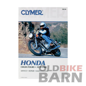 Honda 79-82 CB650 Repair Manual