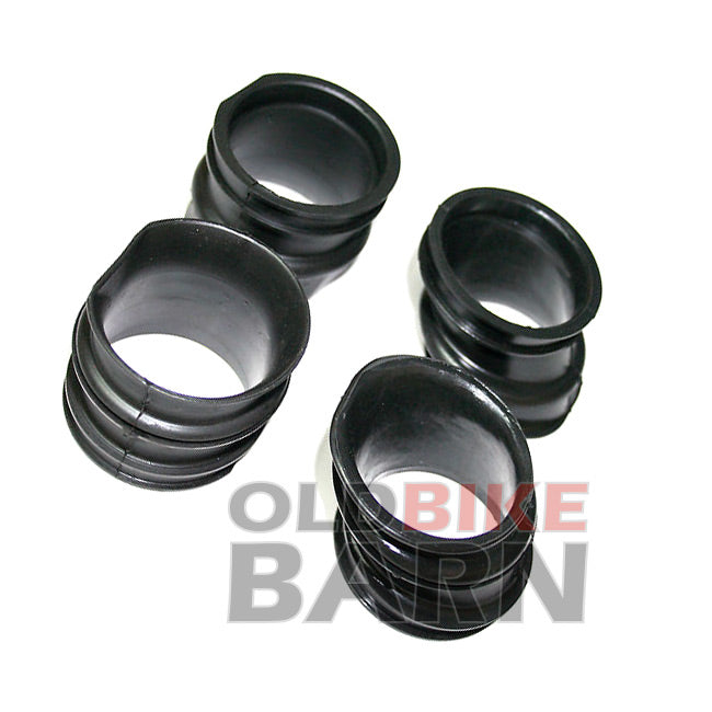Honda 79-82 CB750 Carb Air Box Rubber Boot Set