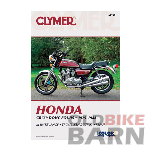 Honda 79-82 CB750 Repair Manual