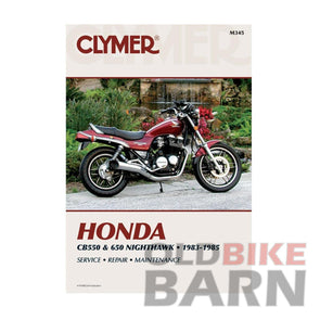 Honda 83-85 CB550SC/650SC Repair Manual