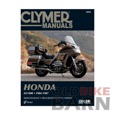 Honda 84-87 GL1200 Repair Manual