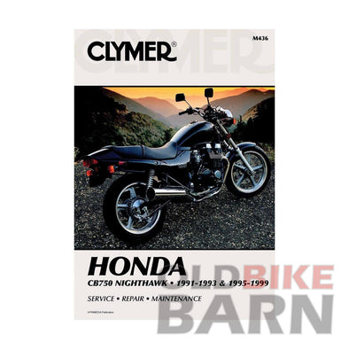 Honda 91-99 CB750SC Repair Manual