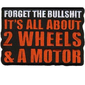 It's All About 2 Wheels Patch