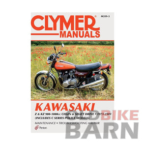 Kawasaki 73-81 Z1/KZ900/KZ1000 Repair Manual