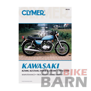 Kawasaki 74-95 KZ400/440 EN500 Repair Manual
