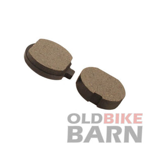 Kawasaki 76-79 KZ750B Twin Rear Brake Pads