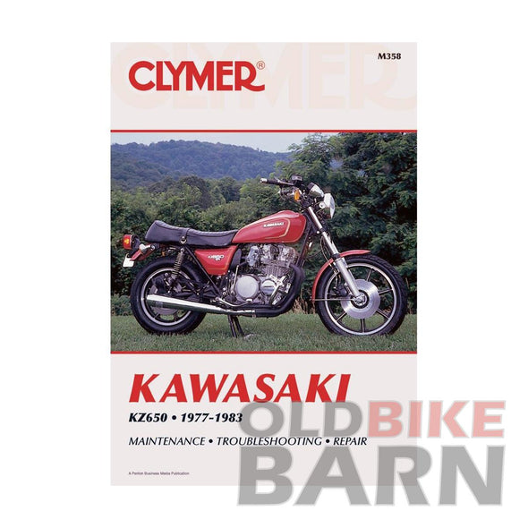 Kawasaki 77-83 KZ650 Repair Manual