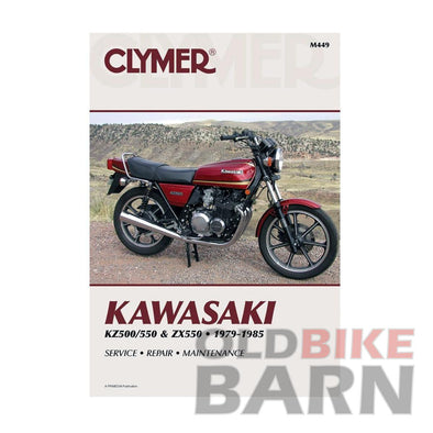 Kawasaki 80-83 KZ550 Repair Manual