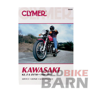 Kawasaki 80-83 KZ750 4 Cyl Repair Manual