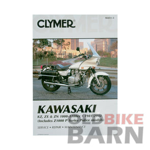 Kawasaki 81-02 KZ1000/KZ1100 Repair Manual