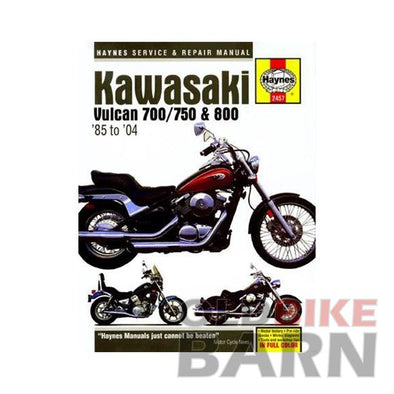 Kawasaki 86-04 VN750/800 Repair Manual