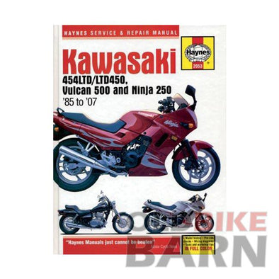 Kawasaki 90-04 EN500 Repair Manual