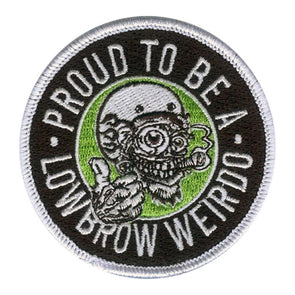 Lowbrow Customs Weirdo Patch
