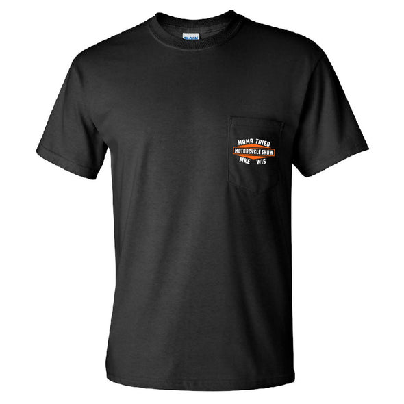 Mama Tried Dealership Logo Pocket T-shirt