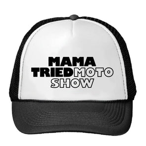 Mama Tried Kid's Stacked Logo Trucker Hat