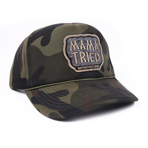 Mama Tried Patch Hat Camo