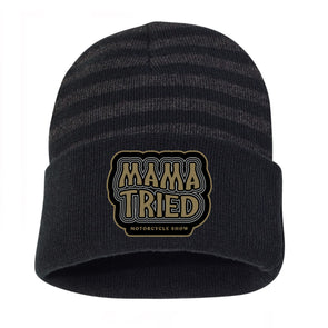 Mama Tried Stacked Logo Winter Hat