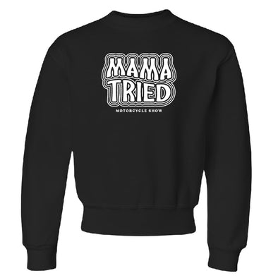 Mama Tried Kids Stacked Logo Sweatshirt