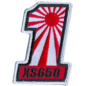 #1 Rising Sun XS650 Motorcycle Patch