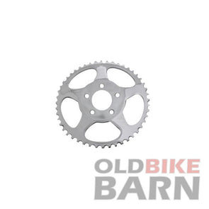 Rear Sprocket Chrome 48 Tooth (Offset)
