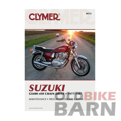 Suzuki 77-78 GS400 Repair Manual