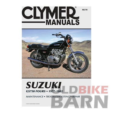 Suzuki 77-82 GS750 Repair Manual
