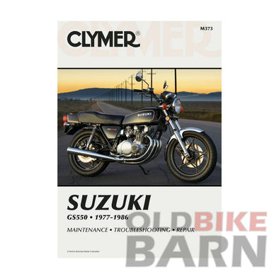 Suzuki 77-86 GS550 Repair Manual