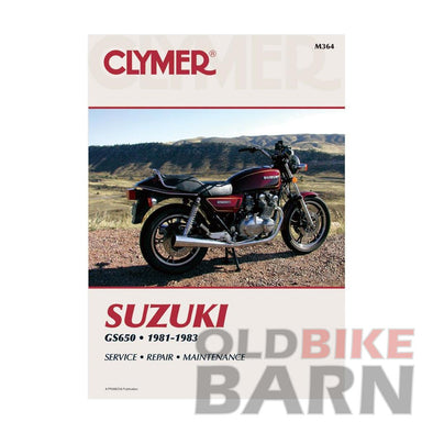Suzuki 81-83 GS650 Repair Manual