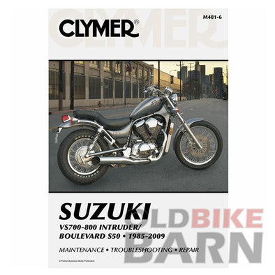 Suzuki 85-09 VS750/800 Repair Manual