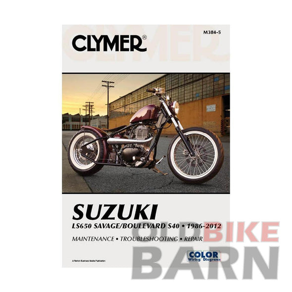 Suzuki 86-12 LS650 Repair Manual