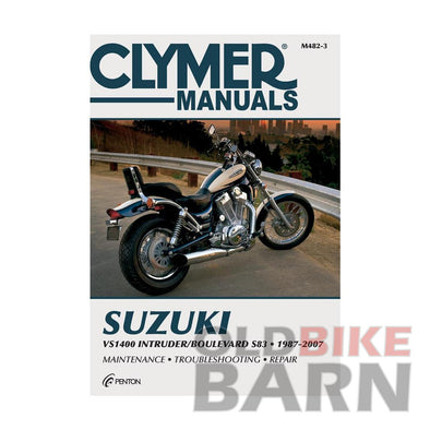 Suzuki 87-04 VS1400 Intruder Repair Manual