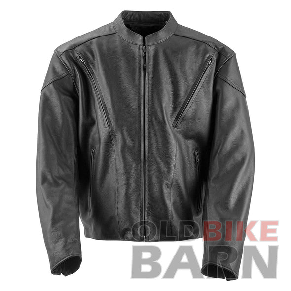 The Killer Black Leather Jacket