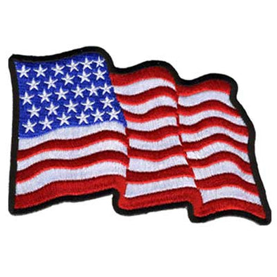 Wavy U.S. Flag Patch
