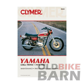 Yamaha 70-82 XS650 Repair Manual