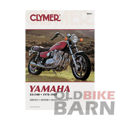 Yamaha 78-81 XS1100 Repair Manual